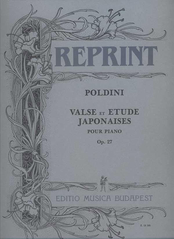 Valse et Etude Japonaises Op. 27 - Poldini - laflutedepan.com