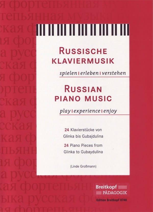 Russian Piano Music - Partition - Piano - laflutedepan.com
