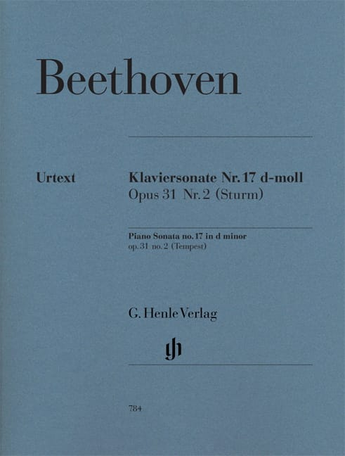 BEETHOVEN - Sonata The Storm - Partition - di-arezzo.co.uk
