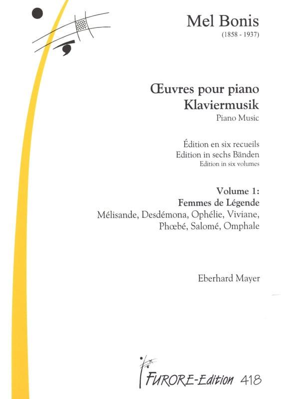 Mel Bonis - Works for Piano - Volume 1 - Partition - di-arezzo.co.uk