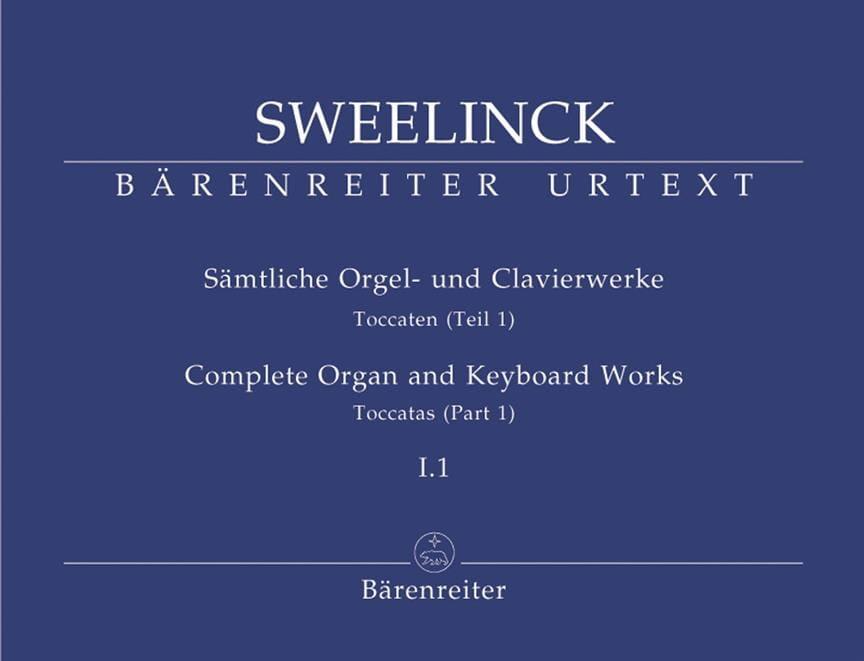 Jan Pieterszoon Sweelinck - Oeuvre pour orgue et clavier Volume 1-1 - Partition - di-arezzo.fr
