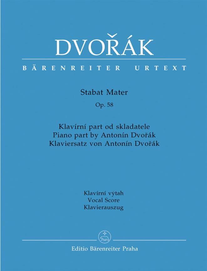 DVORAK - Stabat Mater Opus 58 - Partition - di-arezzo.es