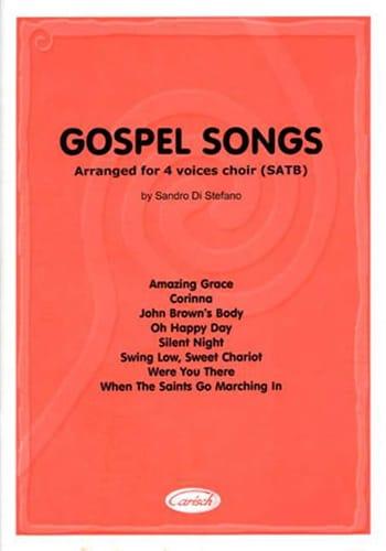 Gospel Songs - Partition - Chœur - laflutedepan.com