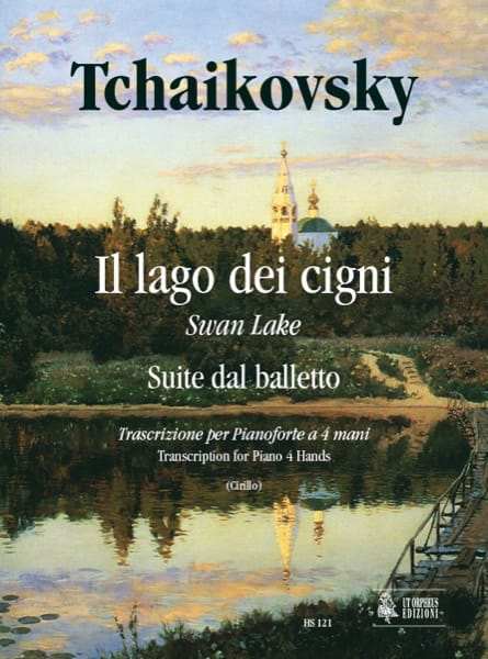 TCHAIKOWSKY - Swan Lake. 4 Hands - Partition - di-arezzo.co.uk