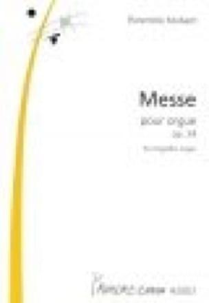Messe Op. 24 - Florentine Mulsant - Partition - laflutedepan.com