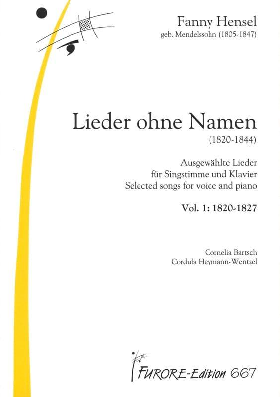 Lieder Volume 1 : Lieder Ohne Name - laflutedepan.com