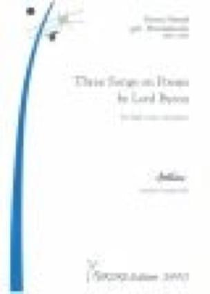 3 Lieder. Voix Haute - Fanny Hensel-Mendelssohn - laflutedepan.com