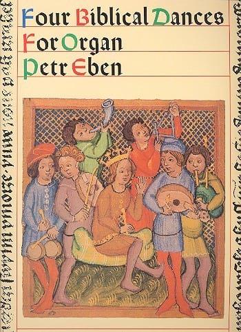 Petr Eben - 4 Biblical Dances - Partition - di-arezzo.co.uk