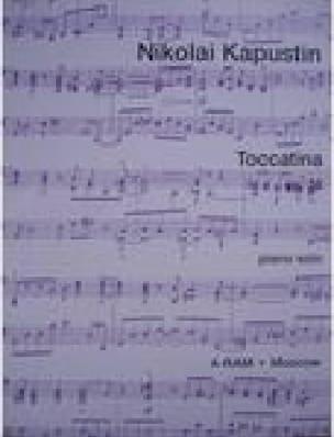 Toccatina Opus 36 - Nikolai Kapustin - Partition - laflutedepan.com