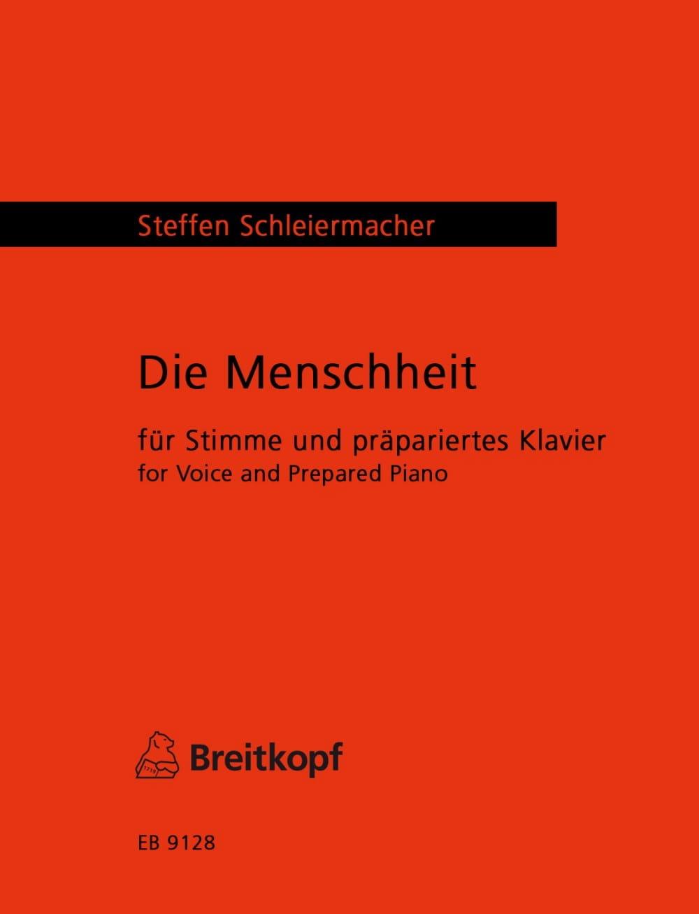 Die Menscheheit - Steffen Schleiermacher - laflutedepan.com