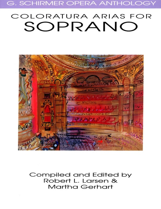 - Opera Anthology: Arias For Soprano Colorature - Partition - di-arezzo.co.uk