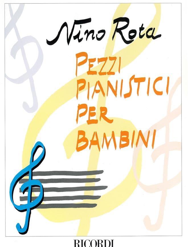 Nino Rota - Pezzi Pianistici Per Bambini - Partition - di-arezzo.co.uk