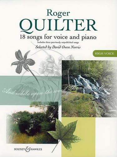 Roger Quilter - 18 Songs. Aloud - Partition - di-arezzo.com