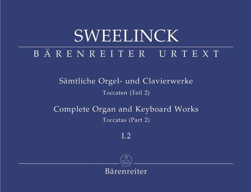 Jan Pieterszoon Sweelinck - Oeuvre pour orgue et clavier Volume 1-2 - Partition - di-arezzo.fr