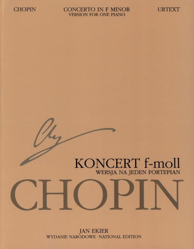 Concerto pour piano n° 2 en Fa mineur Op. 21 Partie soliste - laflutedepan.com