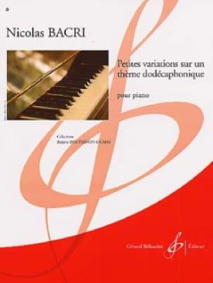 Petites Variations sur un Thème Dodécaphonique - laflutedepan.com