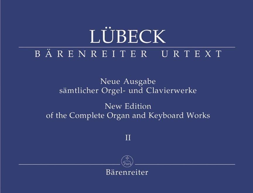 Oeuvre d'Orgue Volume 2 - (Senior) Vincent Lübeck - laflutedepan.com