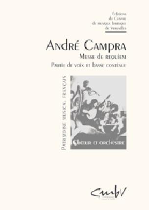 André Campra - Requiem - Partition - di-arezzo.co.uk