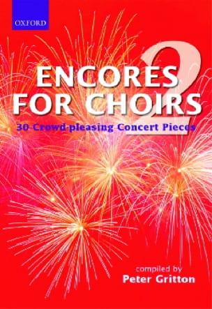 Encores For Choirs Volume 2. - Partition - laflutedepan.com