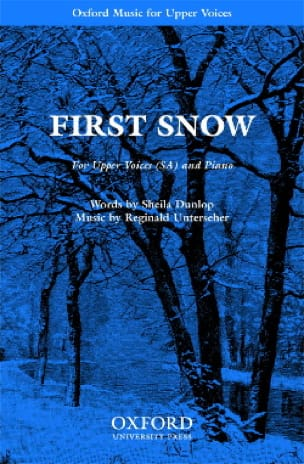 First Snow - Reginald Unterseher - Partition - laflutedepan.com