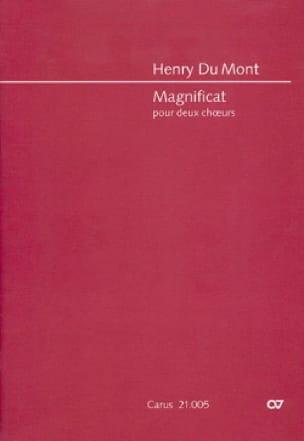 Magnificat. Conducteur - Henry Dumont - Partition - laflutedepan.com