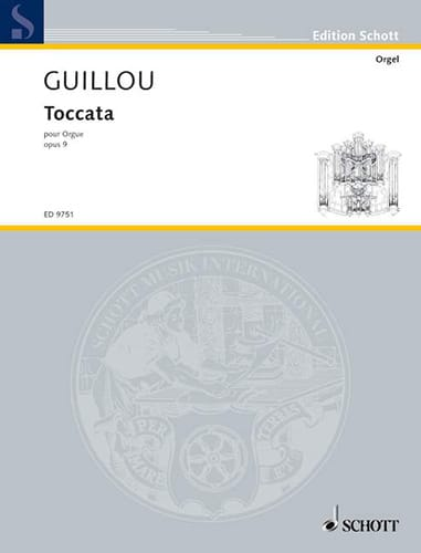 Toccata Opus 9 - Jean Guillou - Partition - Orgue - laflutedepan.com