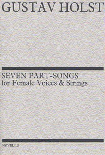 7 Part-Songs Opus 44 - HOLST - Partition - Chœur - laflutedepan.com