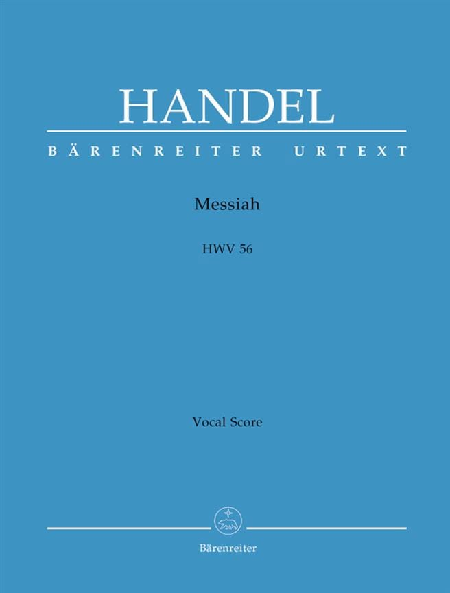 HAENDEL - Messiah HWV 56 - Partition - di-arezzo.co.uk