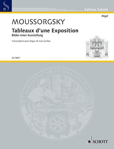 Tableaux D'une Exposition. - MOUSSORGSKI - laflutedepan.com
