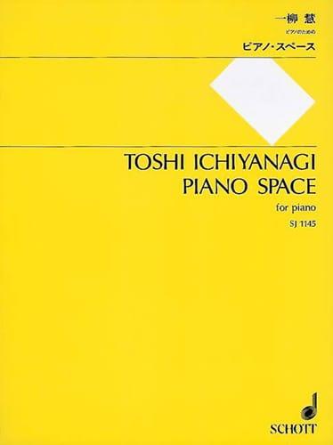 Piano Space - Toshi Ichiyanagi - Partition - Piano - laflutedepan.com