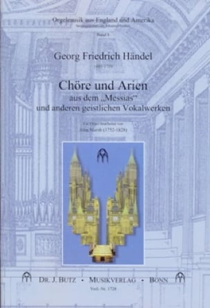 HAENDEL - Choeurs et Airs Du Messie - Partition - di-arezzo.fr