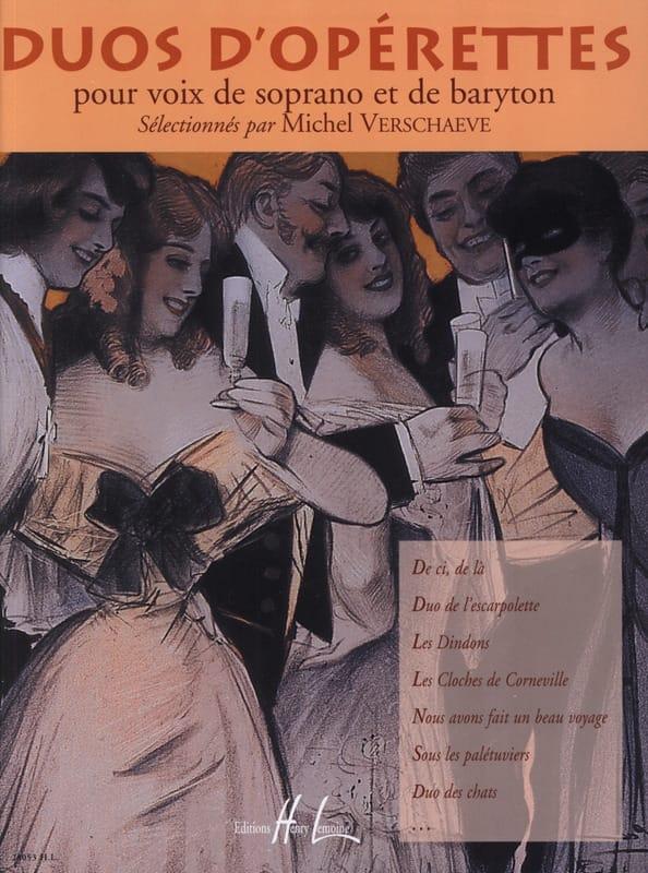 - Soprano / Baritone Operetta Duets - Partition - di-arezzo.com