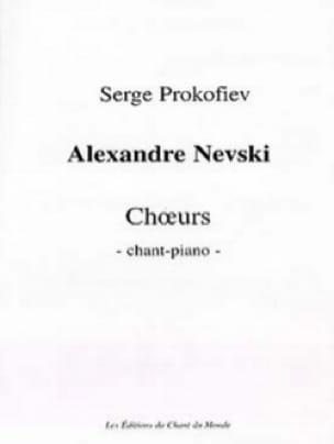 Alexandre Nevski Opus 78 - PROKOFIEV - Partition - laflutedepan.com