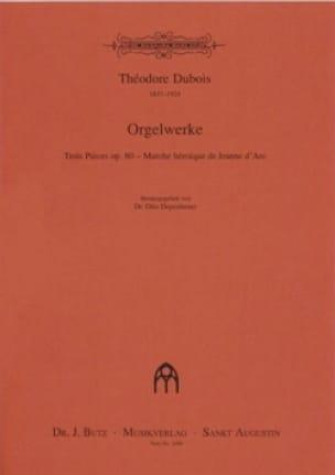 4 Orgelwerke - Théodore Dubois - Partition - Orgue - laflutedepan.com