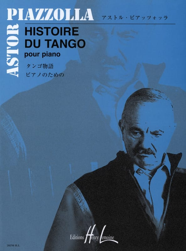 Astor Piazzolla - History of tango - Partition - di-arezzo.co.uk