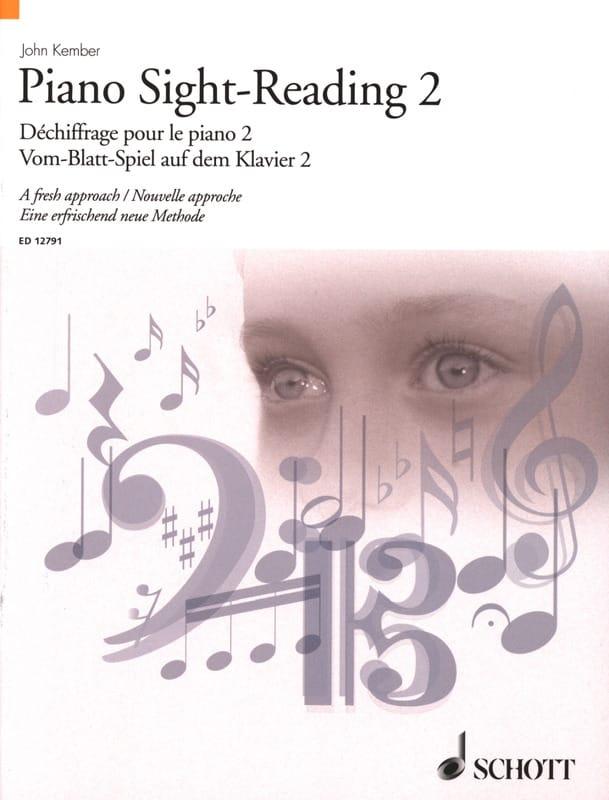 Piano Sight-Reading Volume 2 - John Kember - laflutedepan.com