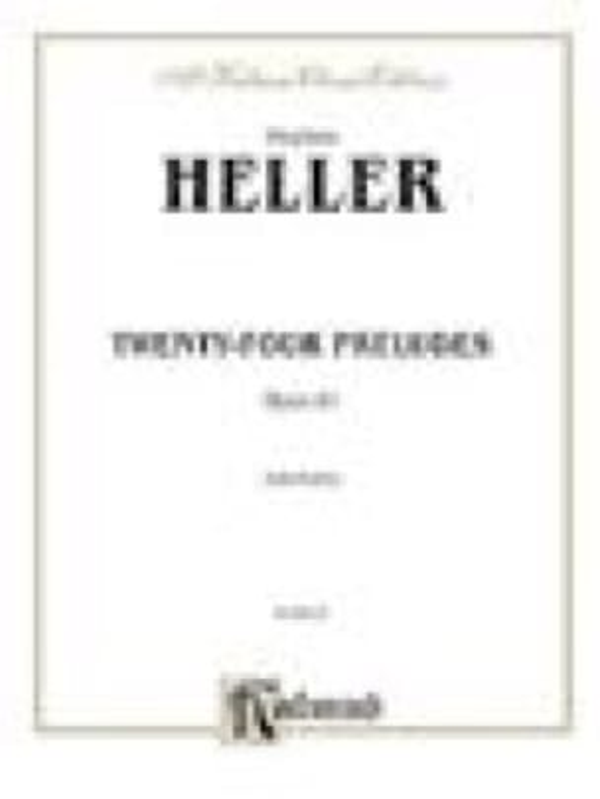 24 Préludes Opus 81 - Stephen Heller - Partition - laflutedepan.com