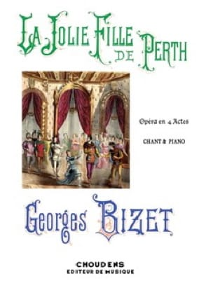 BIZET - The Pretty Girl from Perth - Partition - di-arezzo.co.uk