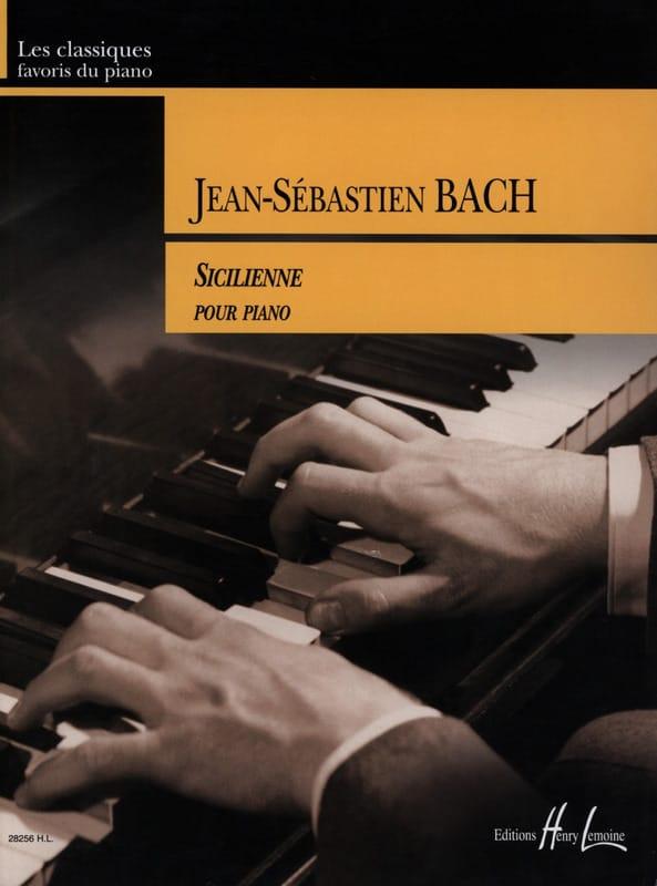 Sicilienne Du Concerto BWV 596 - BACH - Partition - laflutedepan.com