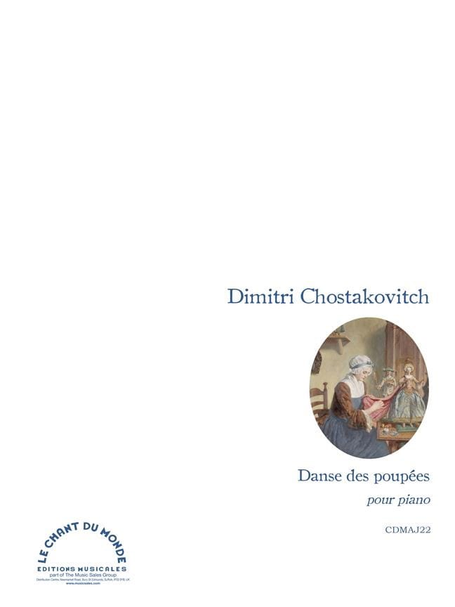 CHOSTAKOVITCH - Dance of the Dolls. - Partition - di-arezzo.co.uk