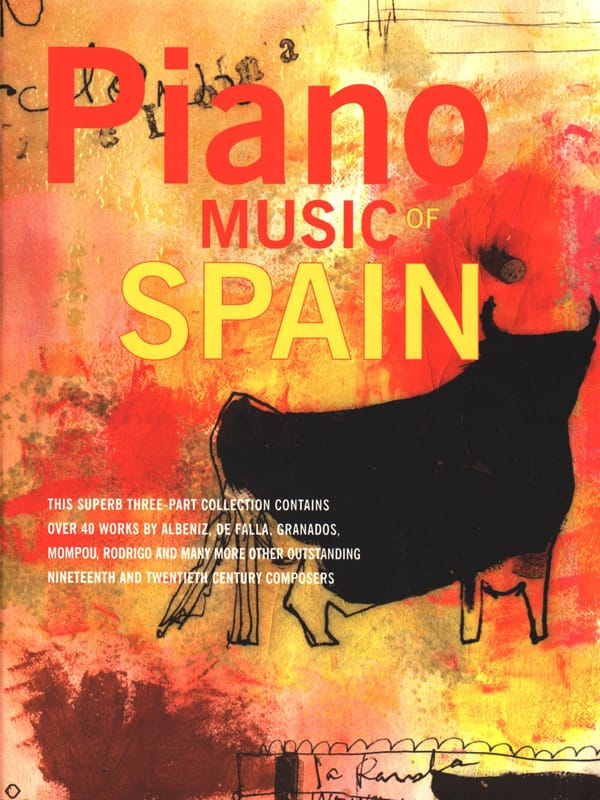 Piano Music Of Spain - Partition - Piano - laflutedepan.com