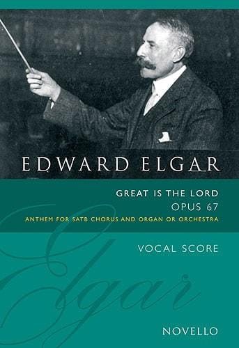 Great Is The Lord Op. 67 - ELGAR - Partition - laflutedepan.com