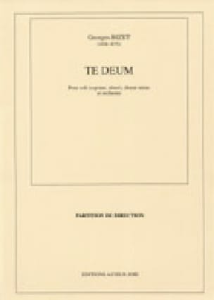 BIZET - Te Deum - Partition - di-arezzo.co.uk