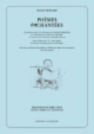 Poésies Enchantées - Michèle Bernard - Partition - laflutedepan.com