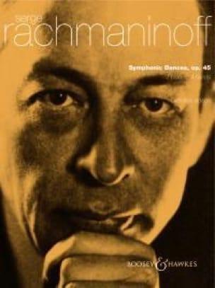RACHMANINOV - Symphonic Dances Opus 45. 2 Pianos - Partition - di-arezzo.co.uk