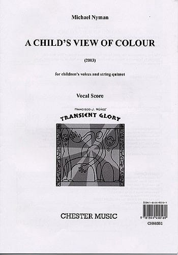 A Child's View Of Colour - Michael Nyman - laflutedepan.com