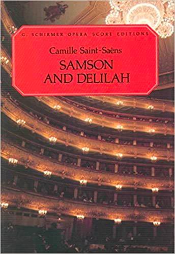 Camille Saint-Saëns - Samson y Dalila - Partition - di-arezzo.es