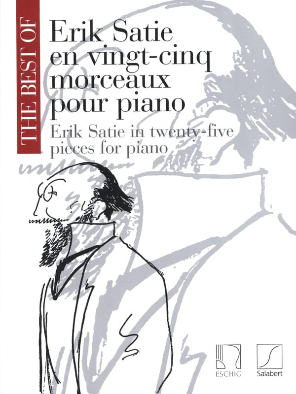 Erik Satie - 25 Pieces For Piano - Partition - di-arezzo.co.uk