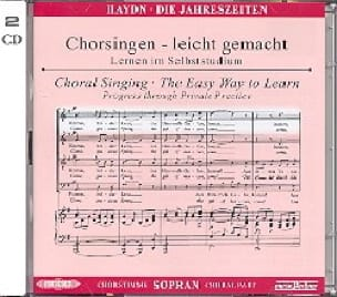 Les Saisons Hob XXI-3 (21-3) CD Soprano CHOEUR - laflutedepan.com