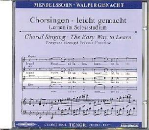 Die Erste Walpurgisnacht Op. 60. CD Ténor - laflutedepan.com